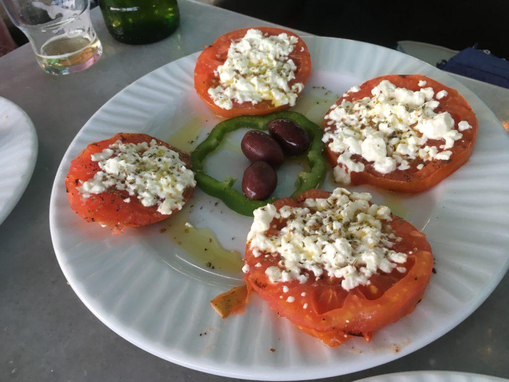 Überbackene geröstete Tomaten - sehr lecker