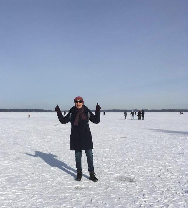 Februar 2021 Bad Zwischenahn - das Meer ist gefroren